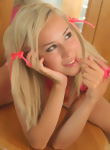 DebbieTeen: 18yo Debbie in pink clothes